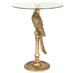 Animal Side Table with Glass Top on Maisons du Monde. Take your pick from our furniture and accessories and be inspired! Guest Bedroom Home Office, Dining Table, Interior, Animals, Inspiration, Furniture, Home Decor, Parrot, Inspired