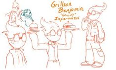 QuantumTale: young GRILLBY!! by perfectshadow06