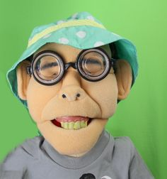 Meet Stand Up Comedy Puppet Ool Long on Sweetles® TV Show!