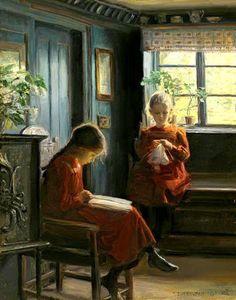 Reading and Art: Knud Erik Edsberg