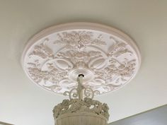 Baile Ceiling Medallion Project - http://blogs.architecturaldepot.com/baile-ceiling-medallion-project/