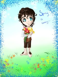 Spring Frodo by Rina-from-Shire