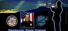 In Memoriam: Sergeant Greg Moore Police Radio, Officer Down, Sheriff Department, Fallen Officer, Lee White, Local Police, Local Hero, Fallen Heroes, Coeur D'alene