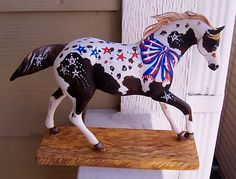 a one of a kind painted pony : ) by Sue Sizemore