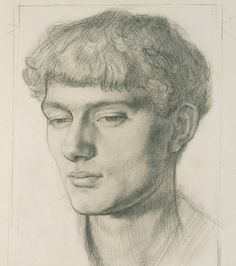 Mark Gertler -- Circa 1909-11 -- By Dora Carrington -- Pencil on paper © National Portrait Gallery, London