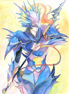 Week 4 - Final Fantasy IV - Fan Art Wed - Kain