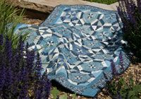 Windmills by Vivian Ritter in Best Fat Quarter Quilts 2014.