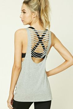 Forever21 Active Ladder-Cutout Tank Found on my new favorite app Dote  Shopping #DoteApp