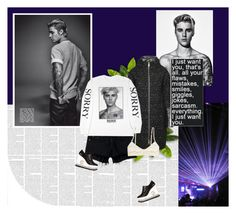 """""""1128"""" by melanie-avni ❤ liked on Polyvore featuring Herno, Justin Bieber, rag & bone/JEAN, Paloma Barceló and Monki"""