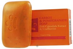 I have been using this soap instead of shampoo for the last 2 weeks and I am in love! It's super easy to use (I just rub it around where my hair is oily) followed by a small amount of conditioner (much less than I used to use). This soap gives my hair a nice texture (I have thick, fine wavy hair that tends to be kind of flat) and it's only about 3 dollars! So much cheaper than my old shampoo. Nubian Heritage - Bar Soap Carrot & Pomegranate