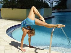 Body Contortionist dancing in BaliniSports #Yoga wear.  Sexy #BikramYoga clothing for modern women like you.