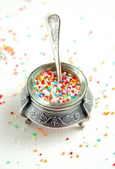 Cute container with sprinkles~