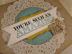 Mothers Day Card with Amazing Family, Paper Crafting, Jenny Peterson, Stampin Up Demonstrator
