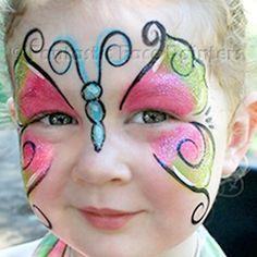 Hire a Kid's Party Face Painter Orange County - Fantastic Face Painters - Face Painting Kids Birthday Party - Professional Face Painters - Kids Parties LA Orange County California