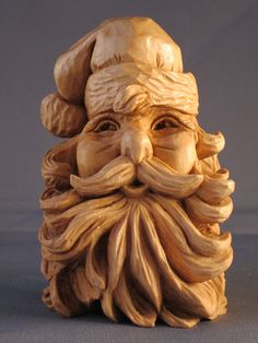 Carved by Susan Alexander. See more of her carvings at her Etsy shop.