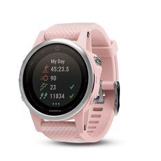 fd716e0d5 Garmin fēnix® 5S Sapphire (Pink Meringue) | Get More From Your Workout with  Less on Your Wrist