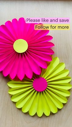 Paper Plate Crafts For Kids, Paper Crafts Origami, Paper Crafts For Kids, Simple Paper Crafts, Decorative Paper Crafts, Flower Crafts Kids, Summer Decorating, Decorating Ideas, Porch Decorating