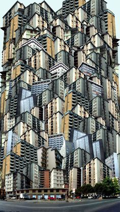 The Giacomo Costa Site City Collage, Collage Art, Building Art, Building Structure, Contemporary Photography, Urban Photography, Photomontage, Beginning And End Art Gcse, Urban Nature
