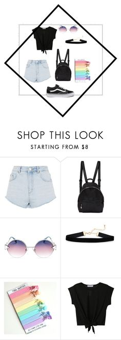 """""""tumblr-girl """" by anna-grigoryan005 ❤ liked on Polyvore featuring Topshop, STELLA McCARTNEY, Fendi and Vans"""