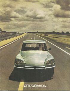 Brochure commerciale Citroën DS - année 1974