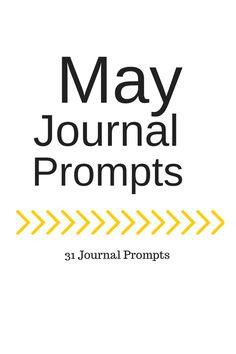 May Journal Prompts + Printable