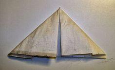 ...And Then We Set It On Fire: Shibori Folding - no 14