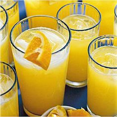 Punch and Cocktail Summer Drink Recipes: Homemade Orange Soda - homemade fruit juice recipes