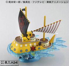 SHIP TRAGALGAR-LAW SUBMARINE  IN BOX ONE PIECE//MODEL KIT BARCO 17 CM
