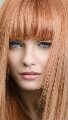 Strawberry blonde hair color, strawberry blonde hair dye, red h Strawberry Blonde Hair Color, Red Hair Color, Blonde Color, Strawberry Blonde Hairstyles, Color Red, Peach Hair Colors, Magenta Hair, Dyed Blonde Hair, Wavy Hair