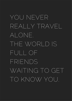 happy quotes & We choose the most beautiful Motivational Solo Travel Quotes - Black & White for you.Solo Travel Quotes - Black & White - museuly most beautiful quotes ideas Dream Quotes, Quotes To Live By, Me Quotes, Journey Quotes, Qoutes, Solo Travel Quotes, Best Travel Quotes, The Words, Best Inspirational Quotes