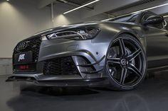 Con la RS6-R, ABT Sportsline è riuscita a rendere ancora più estrema l'Audi RS6, trasformandola in un missile da 320 km/h
