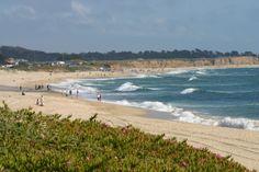 Ponder the Ocean's Expanse at Poplar Beach in Half Moon Bay | Mill Rose Inn | Half Moon Bay, CA