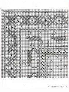 Gallery.ru / Фото #116 - Scandinavian cross stitch designs - simplehard