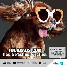 10dayads.com has a Fashion Section. #Fashion #PostingFashionAds #WorldwideFashionAds #ListYourFashion