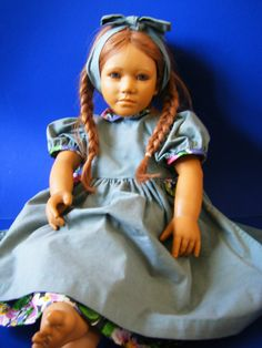 Vintage Original Annette Himstedt Doll by CHAMPAGNEANDMERMAIDS on Etsy