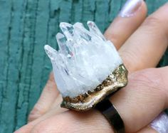 https://www.etsy.com/listing/121593110/shards-crystal-ring-raw-white-crystal