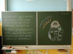 Aa School, School Clubs, Art Quotes, Letter Board, Chalkboard, Teaching, Lettering, Facebook, Education