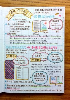 Easy Bullet Journal Ideas To Well Organize & Accelerate Your Ambitious Goals Bullet Journal Japan, Bullet Journal Art, Bullet Journal Inspiration, Journal Ideas, Journal Diary, Journal Notebook, Secret Notes, Study Japanese, Cute Journals