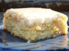 """Anti-Crabby Cake   """"'m sure there is an official name to this cake, but I grew up with it only being called anti-crabby cake because no matter how you were feeling, this cake always made you feel better. It still does the trick for me! It is simple, unique, and delicious!"""""""