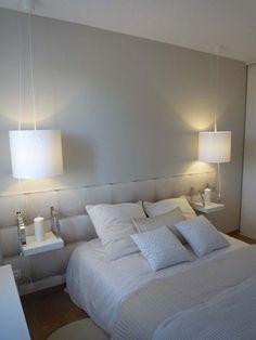 Ces deux lampes de chevet peuvent être facilement reproduites à moindre coût...* (Aurélie Hémar Architecte d'intérieur)