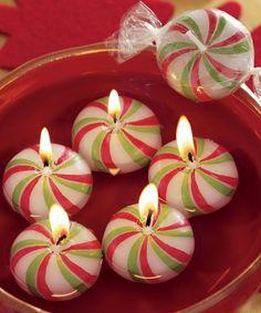 Svíčky * barevné bonbóny