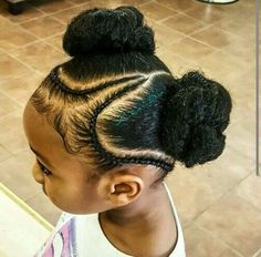 Braids for kids keep hair looking cute for school, sports, or special occasions. Check out our favorite new and fun little girl braids for you to try out today! Childrens Hairstyles, Lil Girl Hairstyles, Black Kids Hairstyles, Natural Hairstyles For Kids, Kids Braided Hairstyles, Trendy Hairstyles, Hairstyles Haircuts, Beautiful Hairstyles, Short Haircuts
