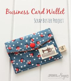 Business Card Wallet Scrap Buster Project
