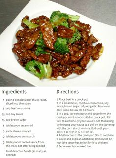 Low carb crock pot meals - most popular. Paleo friendly crockpot recipes ►♥◄ Slow cooker honey garlic chicken, Paleo pot roast, crock pot beef  Share the delicious recipes. Please repin carbswitch.com