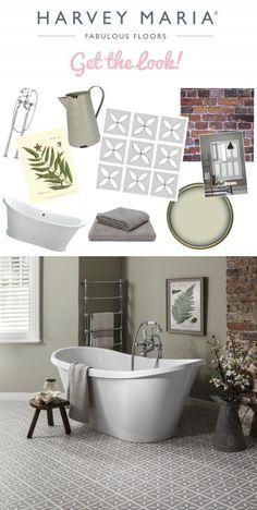 Get The Look Luxury Botanical Bathroom