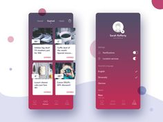 Find Great Deals - Blyss iOS app designed by Tomas Skrkon for GoodRequest. Connect with them on Dribbble; Sarah Rafferty, Ios App Design, Mobile Application Development, Red Design, Mocca, Silver Spring, Show And Tell, Red Purple, Great Deals