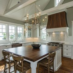 Kitchen Island With Attached Table Design, Pictures, Remodel, Decor and Ideas - page 33