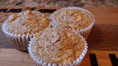 The Best Protein Powder Recipes and More!! : Cinnamon Apple Protein Muffins!