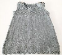 Made by me: Strikket kjole med hekledetaljer