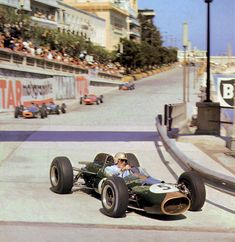 Jack Brabham at the 1964 Monaco Grand Prix